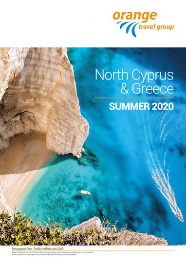 brochure; north cyprus; greece; 2020;